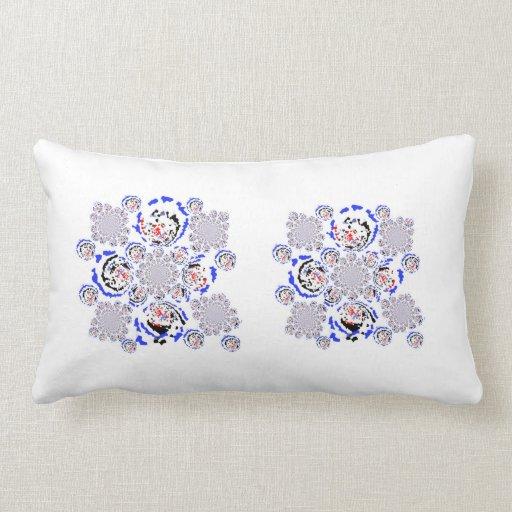 Diseño retro y nuevo almohadas
