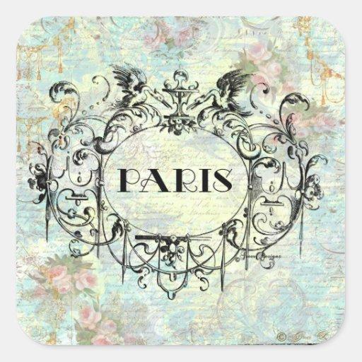 Dise o rococ del estilo antiguo franc s y rosas - Estilo y diseno ...