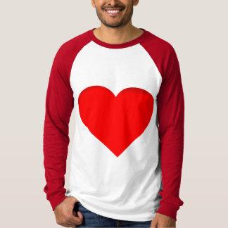 Diseño rojo de la impresión del doble de los camiseta