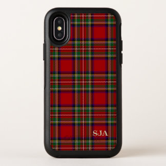 Diseño rojo de la tela escocesa de tartán