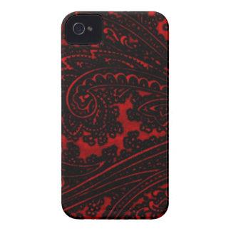 Diseño rojo iPhone 4 Case-Mate carcasa