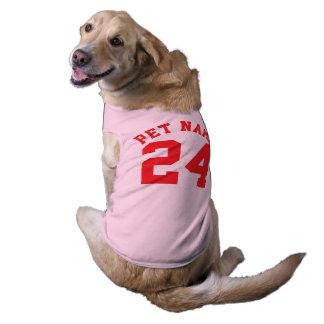 Diseño rosado y del rojo de los mascotas el | de