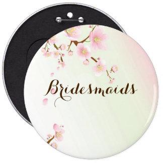 Diseño rosado y poner crema del boda del flor de l chapa redonda 15 cm