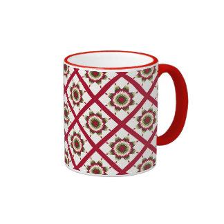 Diseño solitario del edredón de la estrella del taza de dos colores