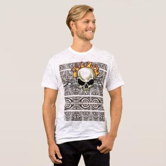 diseño tribal completo para hombre camiseta
