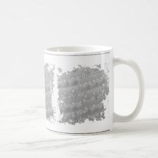 Diseño triple de la taza de la caja