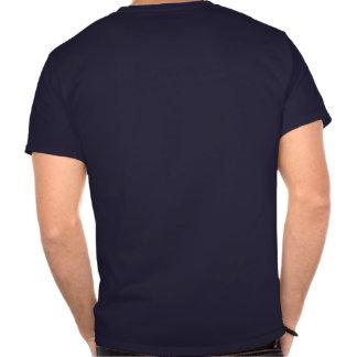 Diseño unisex de la camiseta (texto blanco)