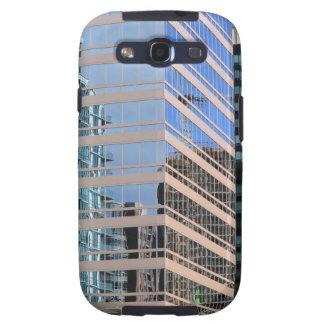 Diseño urbano de los edificios samsung galaxy s3 carcasa