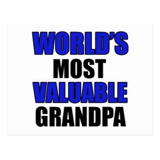 diseño valioso del abuelo postal