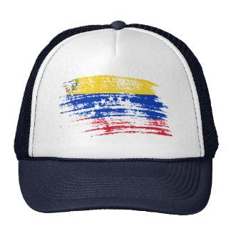 Diseño venezolano fresco de la bandera gorro de camionero