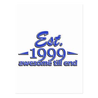 diseños 15 años postal