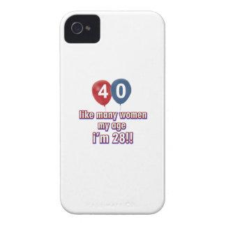 diseños 40 años de las mujeres iPhone 4 cárcasa