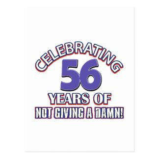 diseños 56 años postal