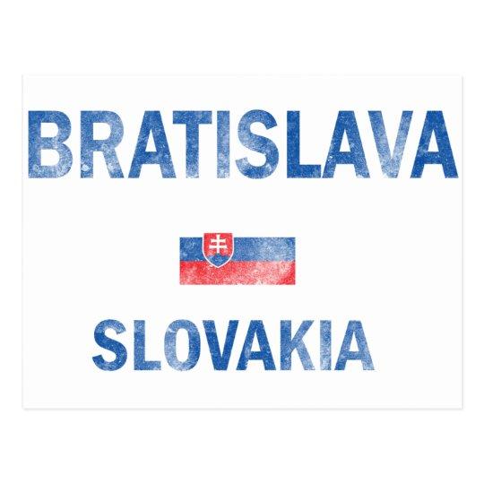 Diseños de Bratislava Eslovaquia Postal