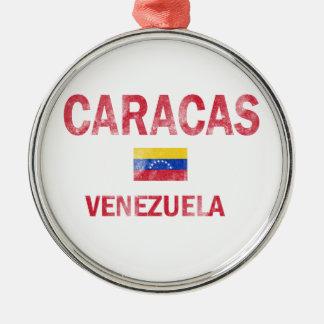 Diseños de Caracas Venezuela Ornamento Para Arbol De Navidad