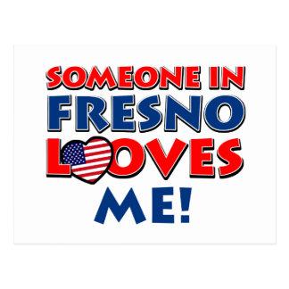 Diseños de la ciudad de Fresno Postal