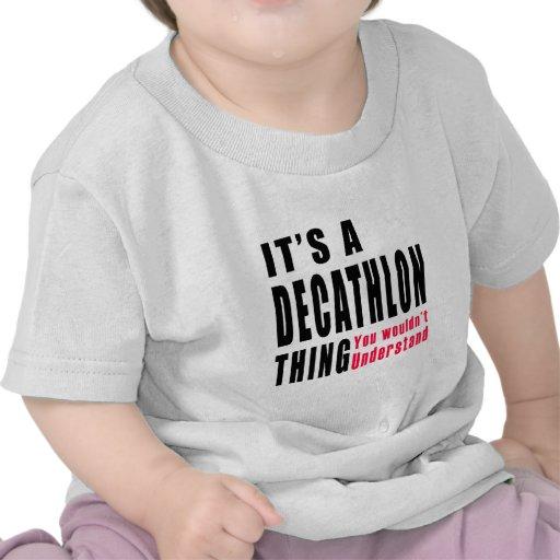 Diseños de la cosa del Decathlon Camisetas