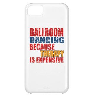 Diseños de la danza de salón de baile funda para iPhone 5C