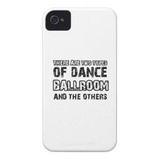 Diseños de la danza de salón de baile iPhone 4 Case-Mate carcasas