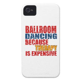 Diseños de la danza de salón de baile iPhone 4 coberturas