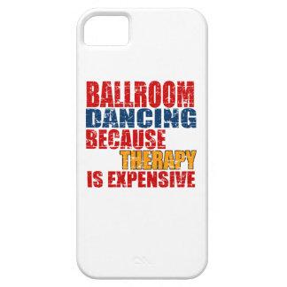 Diseños de la danza de salón de baile iPhone 5 protector