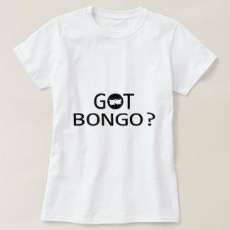 Diseños de la música del BONGO Camisas