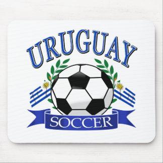 Diseños del balón de fútbol de Uruguay Alfombrilla De Ratón