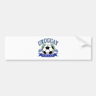 Diseños del balón de fútbol de Uruguay Pegatina Para Coche