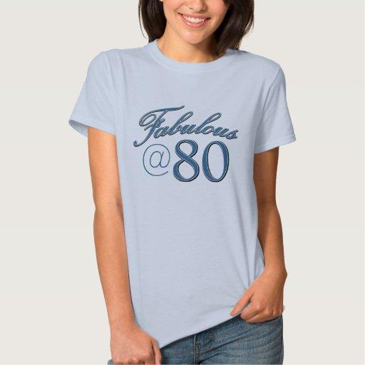 dise os del cumplea os de 80 a os camisetas