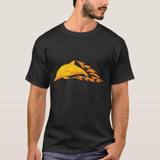 Diseños del delfín camiseta