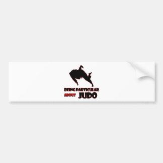 diseños del judo pegatina para coche