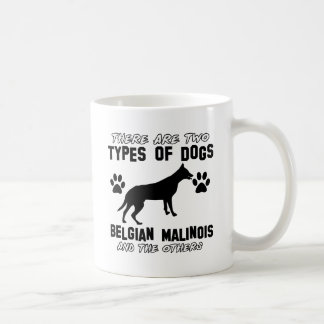 Diseños del perro de Malinois del belga Taza De Café