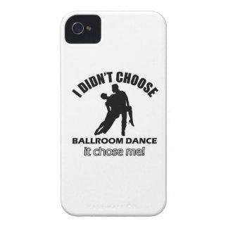 Diseños frescos de la danza de salón de baile iPhone 4 coberturas