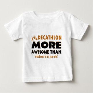 Diseños frescos del Decathlon Camiseta De Bebé