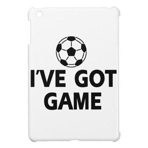 diseños frescos del fútbol iPad mini protector