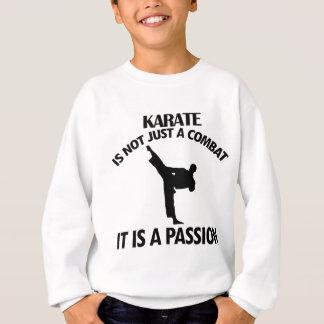 DISEÑOS frescos del karate Sudadera