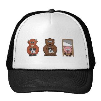 Diseños inspirados del mercado de acción gorras de camionero