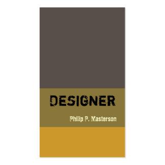 Diseños masculinos de la arquitectura del diseñado plantillas de tarjetas de visita