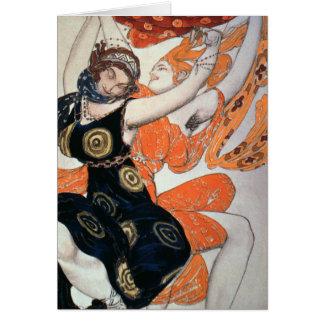 Diseños operísticos del traje, 1911 tarjeta