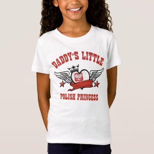 diseños polacos de la princesa camiseta