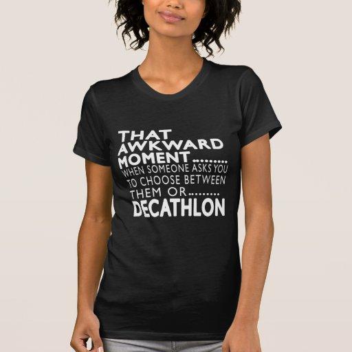 Diseños torpes de ese Decathlon del momento Camiseta