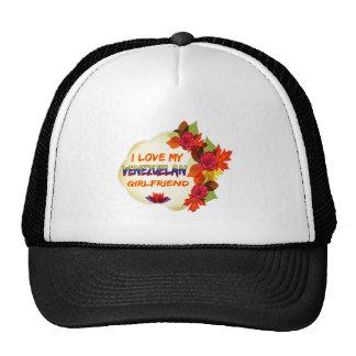 Diseños venezolanos de la novia gorra