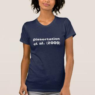 Disertación y otros camiseta