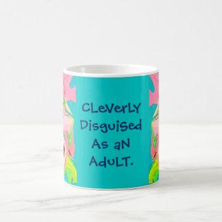 disfraz adulto taza