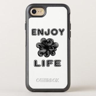"""Disfrute caso de Otterbox de la vida"" Funda OtterBox Symmetry Para iPhone 8/7"