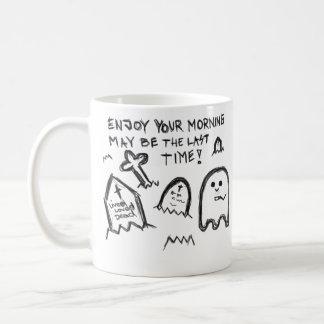 Disfrute de su mañana taza de café