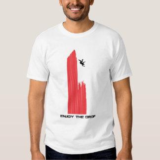 Disfrute del descenso #2 Dubstep Camisas