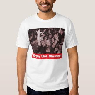 Disfrute del momento 3 - concierto camiseta