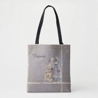 Disfrute la bolsa de asas de la impresión del arte