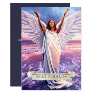 ¡Disfrute! Suben a Jesús. Tarjetas de pascua Invitación 12,7 X 17,8 Cm